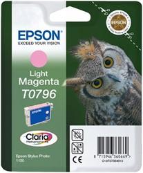 Inktcartridge Epson T0796 lichtrood