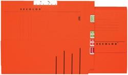 Verzamelmap Secolor A4 lateraal rood