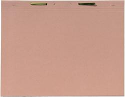 Binnenmap Jalema folio met hechting 300gr chamois