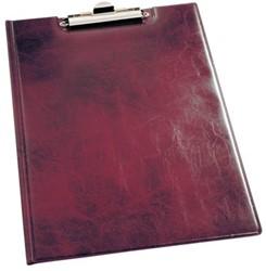 Klembordmap Durable 2355 met kopklem en insteek rood