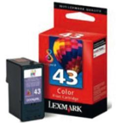 Inkcartridge Lexmark 18Yx143E 43 kleur