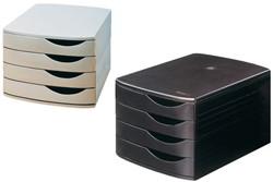Ladenbox Jalema A6862-549 4 laden zwart