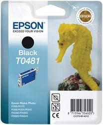 Inktcartridge Epson T0481 zwart