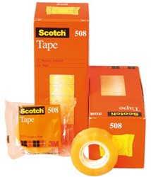Plakband Scotch 508 19mmx33m transparant