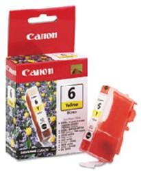 Inktcartridge Canon BCI-6 geel