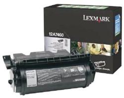 Tonercartridge Lexmark 12A7460 prebate zwart