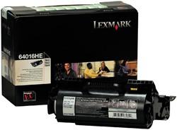 Tonercartridge Lexmark 64016HE prebate zwart
