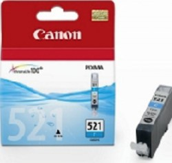 Inktcartridge Canon CLI-521 blauw