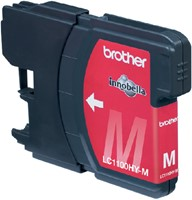Inkcartridge Brother LC-1100HYM rood HC-2