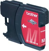 Inkcartridge Brother LC-1100HYM rood HC