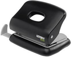Perforator Rapid Eco 2-gaats 20vel zwart