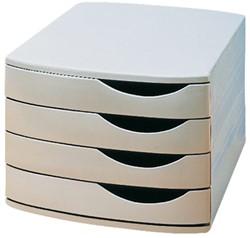 Ladenbox Jalema A6862-541 4 laden grijs