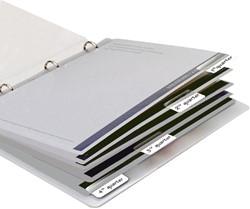 Indextabs 3L 10513 12x40mm zelfklevend wit