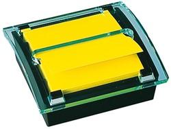 Memoblokdispenser 3M Post-it Z-Notes C2014 76x76mm zw/transp