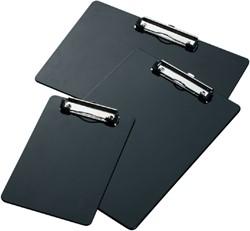 Klembord LPC A4 staand met kopklem zwart