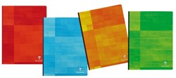 Notitieboek Exacompta Matris 110x170mm gelinieerd assorti