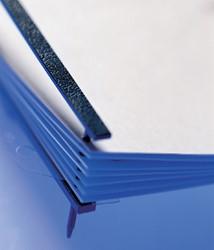 Velobindstrip GBC 4-pins blauw