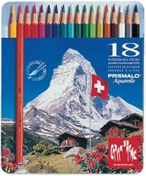 Kleurpotloden Caran d'Ache Prismalo 18 stuks assorti