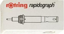 Tekenkop Rotring 755070 rapidograph 0.70mm blauw