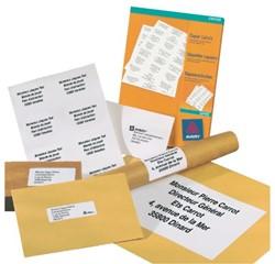 Etiketten voor kopieermachines