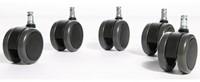 Wielen rubber voor Interstuhl/Pro-NPR serie 5stuks-2