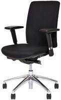 Bureaustoel Van Hilten Huislijn BG01 - Oasis Zwart (9111)