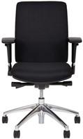 Bureaustoel Van Hilten Huislijn BG01 - Oasis Zwart (9111)-2