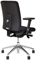 Bureaustoel Van Hilten Huislijn BG01 - Oasis Zwart (9111)-3