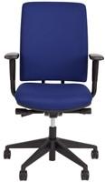 Bureaustoel Van Hilten Huislijn BG02 - Oasis Blauw (9212)-2