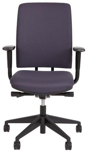 Bureaustoel Van Hilten Huislijn BG02 - Oasis Grijs (9114)-2