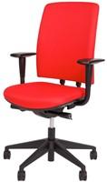 Bureaustoel Van Hilten Huislijn BG02 - Oasis Rood (9555)