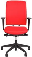 Bureaustoel Van Hilten Huislijn BG02 - Oasis Rood (9555)-2