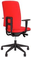 Bureaustoel Van Hilten Huislijn BG02 - Oasis Rood (9555)-3
