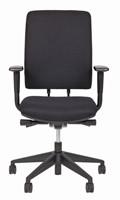 Bureaustoel Van Hilten Huislijn BG02 - Oasis Zwart (9111)-2
