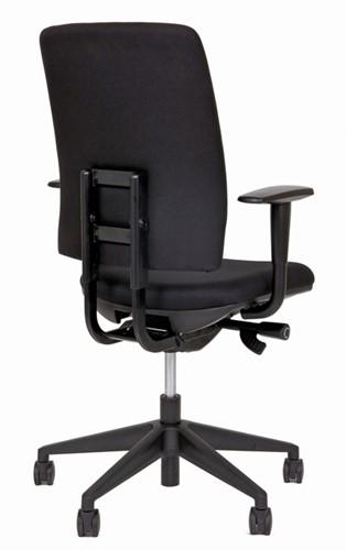 Bureaustoel Van Hilten Huislijn BG02 - Oasis Zwart (9111)-3