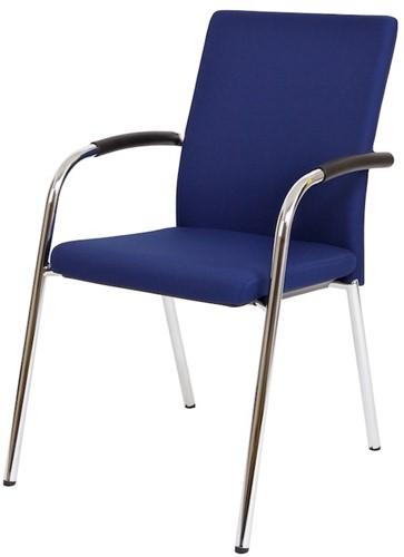 Bezoekersstoel Van Hilten Huislijn BG23 - Oasis Blauw (9212)