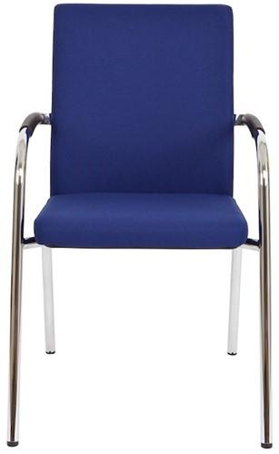 Bezoekersstoel Van Hilten Huislijn BG23 - Oasis Blauw (9212)-2