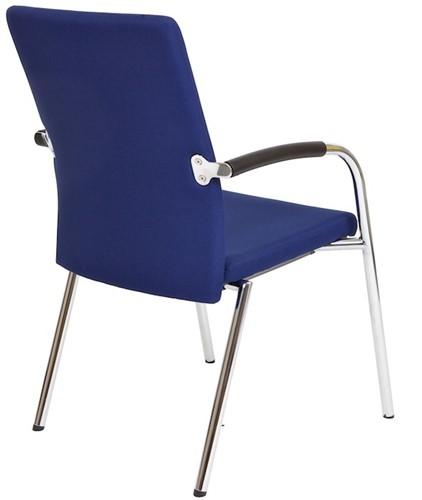 Bezoekersstoel Van Hilten Huislijn BG23 - Oasis Blauw (9212)-3