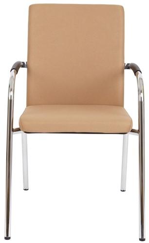 Bezoekersstoel Van Hilten Huislijn BG23 - Oasis Bruin (9766)-2