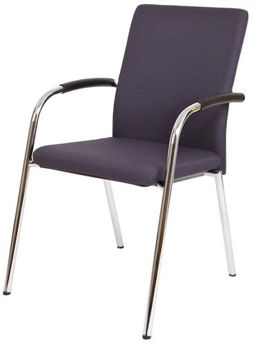 Bezoekersstoel Van Hilten Huislijn BG23 - Oasis Grijs (9114)