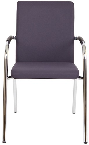 Bezoekersstoel Van Hilten Huislijn BG23 - Oasis Grijs (9114)-2