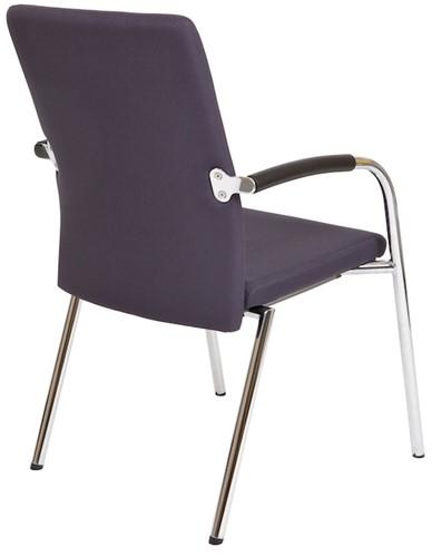 Bezoekersstoel Van Hilten Huislijn BG23 - Oasis Grijs (9114)-3