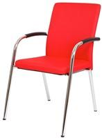Bezoekersstoel Van Hilten Huislijn BG23 - Oasis Rood (9555)