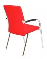 Bezoekersstoel Van Hilten Huislijn BG23 - Oasis Rood (9555)-3