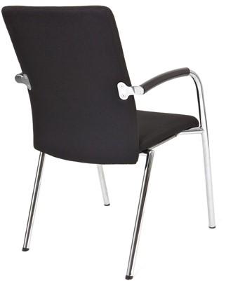Bezoekersstoel Van Hilten Huislijn BG23 - Oasis Zwart (9111)-3