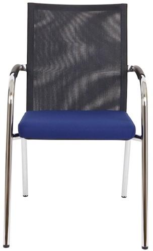 Bezoekersstoel Van Hilten Huislijn BN23 - Oasis Blauw (9212)-2