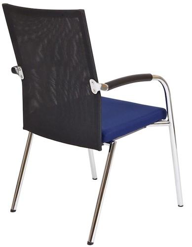 Bezoekersstoel Van Hilten Huislijn BN23 - Oasis Blauw (9212)-3