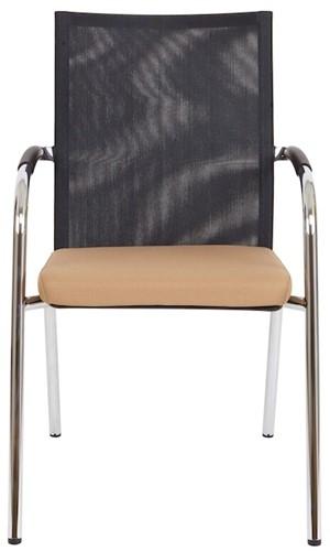 Bezoekersstoel Van Hilten Huislijn BN23 - Oasis Bruin (9766)-2