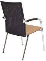 Bezoekersstoel Van Hilten Huislijn BN23 - Oasis Bruin (9766)-3