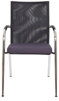 Bezoekersstoel Van Hilten Huislijn BN23 - Oasis Grijs (9114)-2
